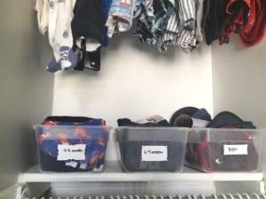 baby closet organization athomewithashley (3f)