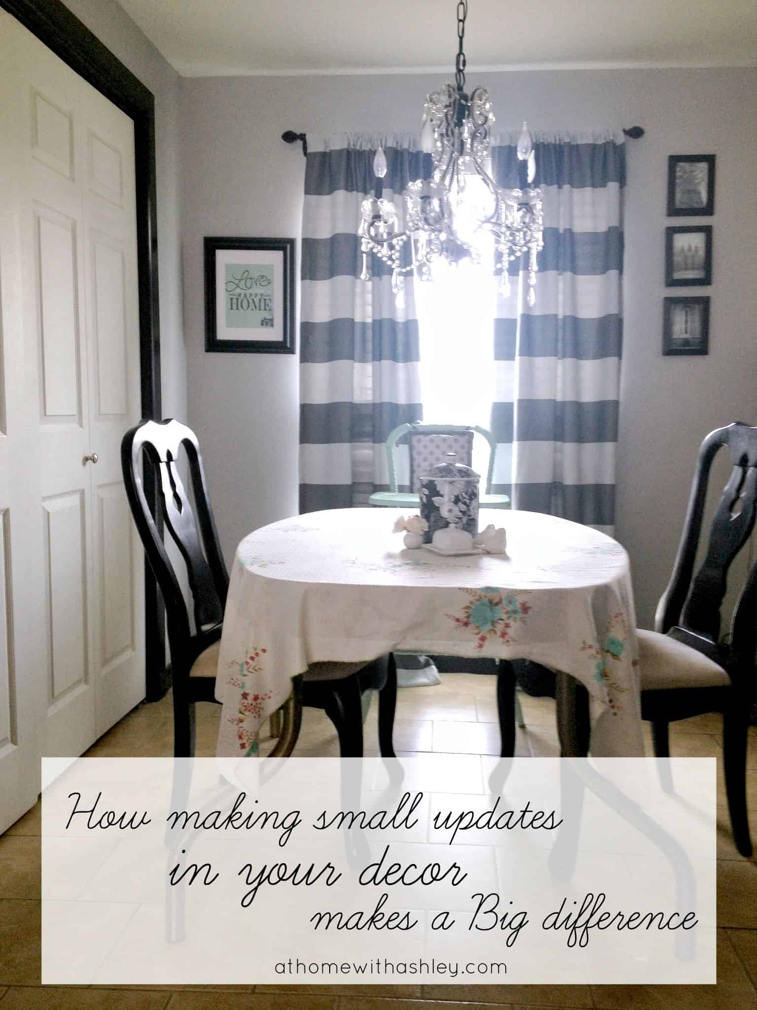 How Making Small Updates in you Decor makes a Big Difference