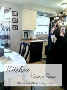 kitchen tour athomewithashley.com
