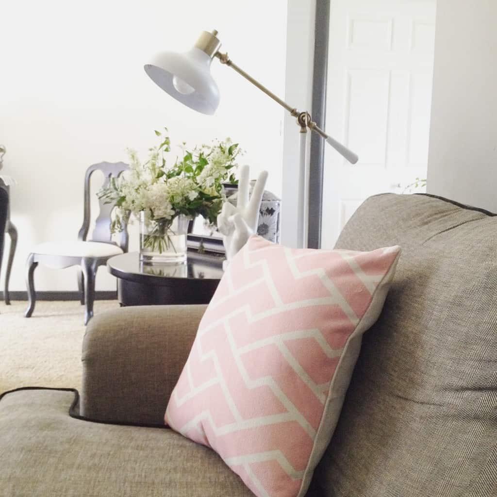 living room update- athomewithashley.com