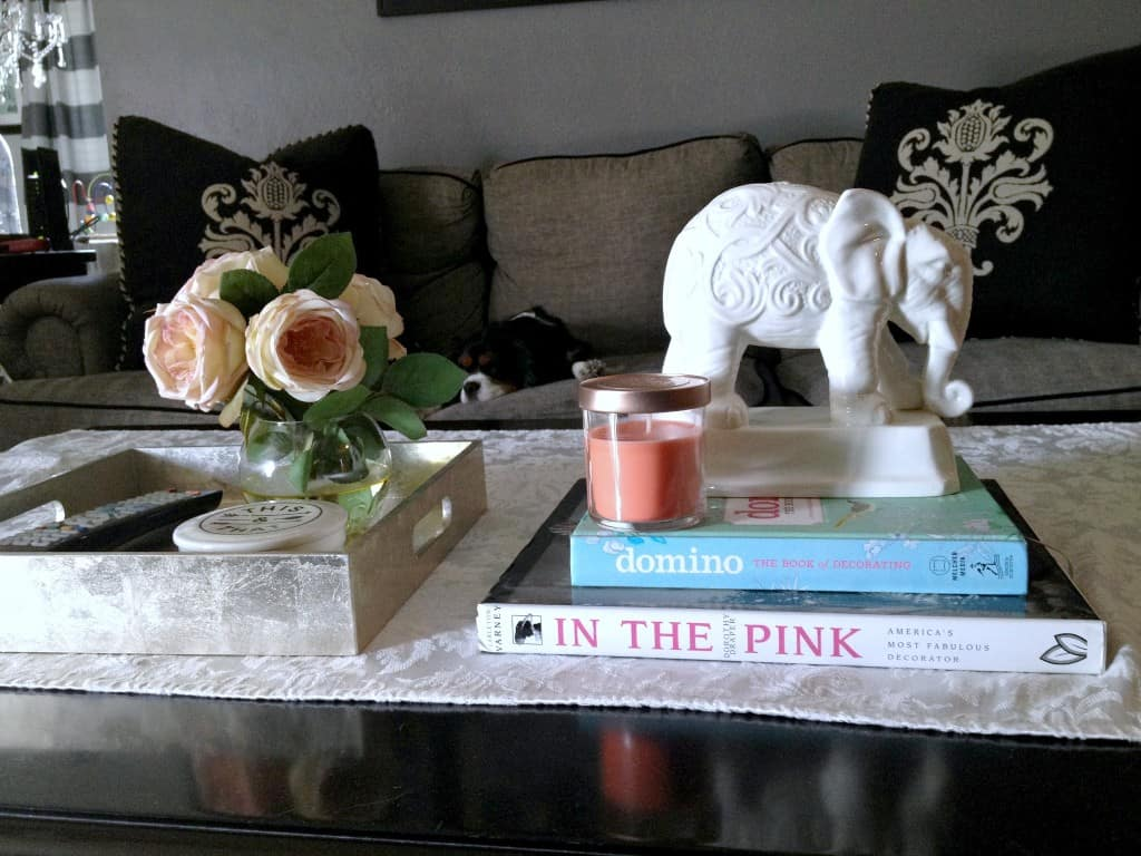 coffee table styling athomewithashley after