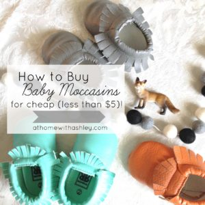 how to buy moccasins for cheap- less than $5