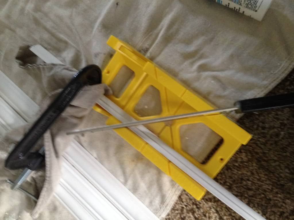how to install chair molding