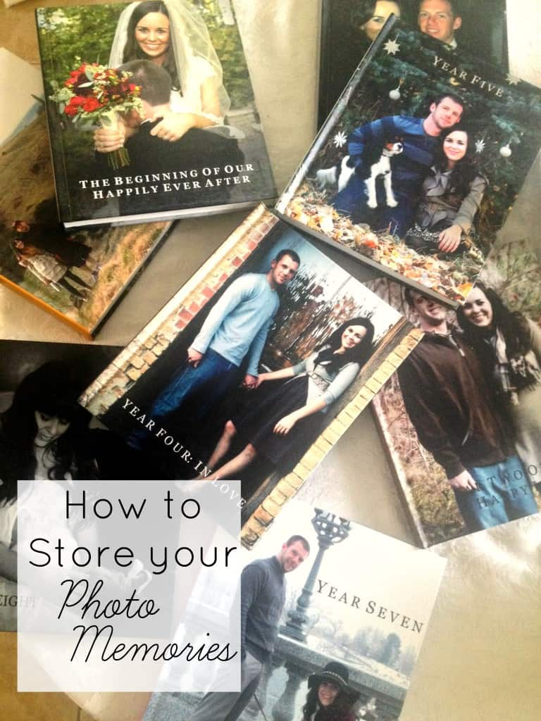 how to store your photo memories athomewithashley