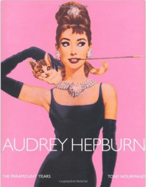 Audrey Hepburn the paramount years pink books