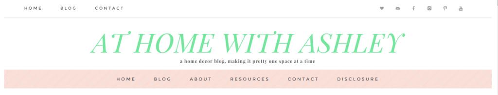 Old blog headed