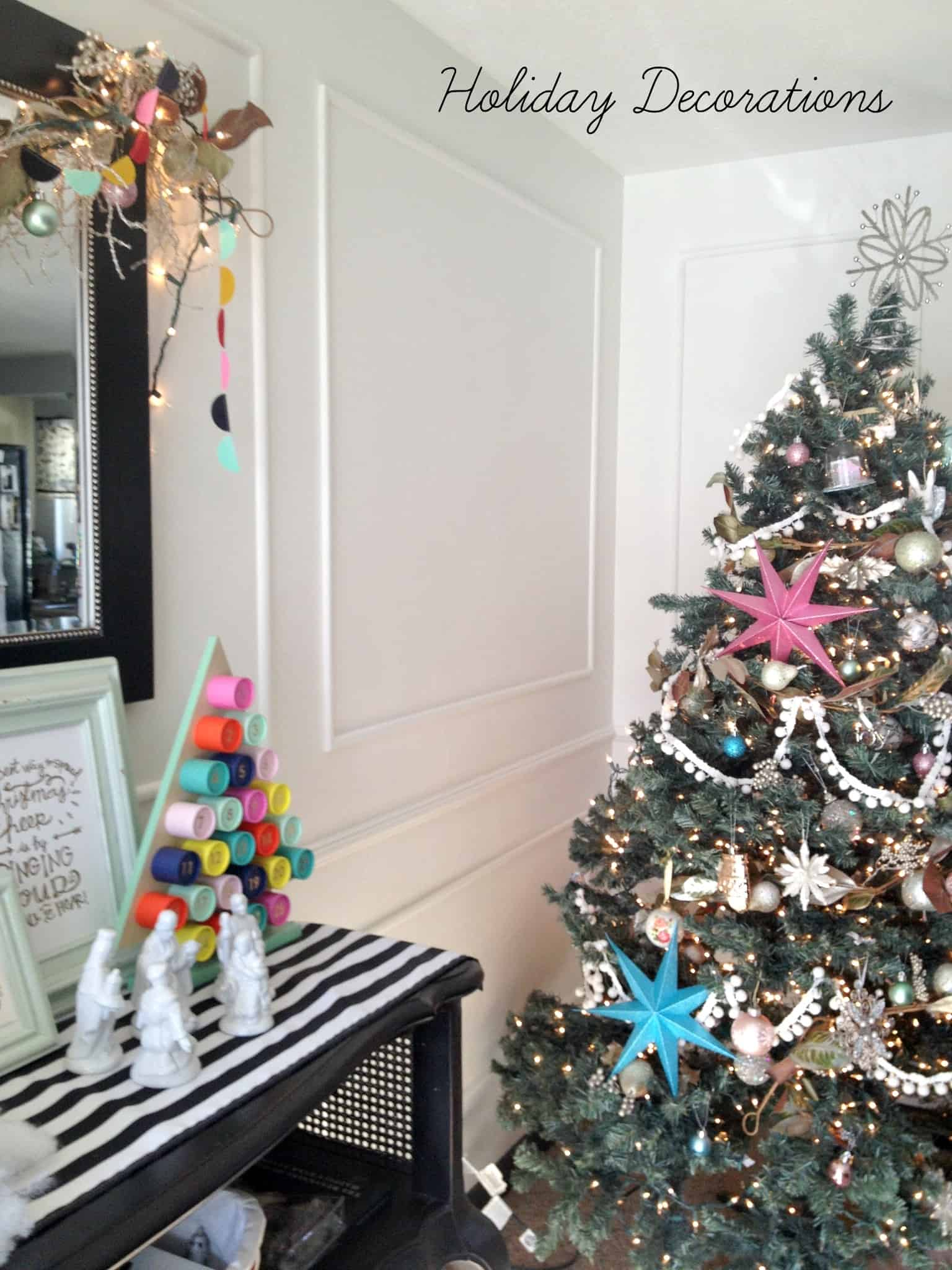 Holiday Decorations - at home with Ashley