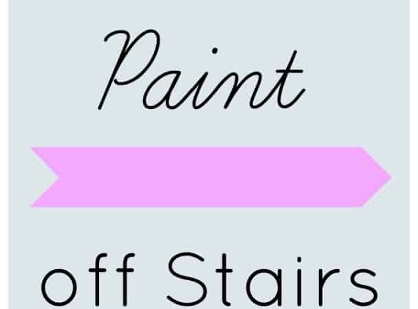 Stairs- Removing Paint
