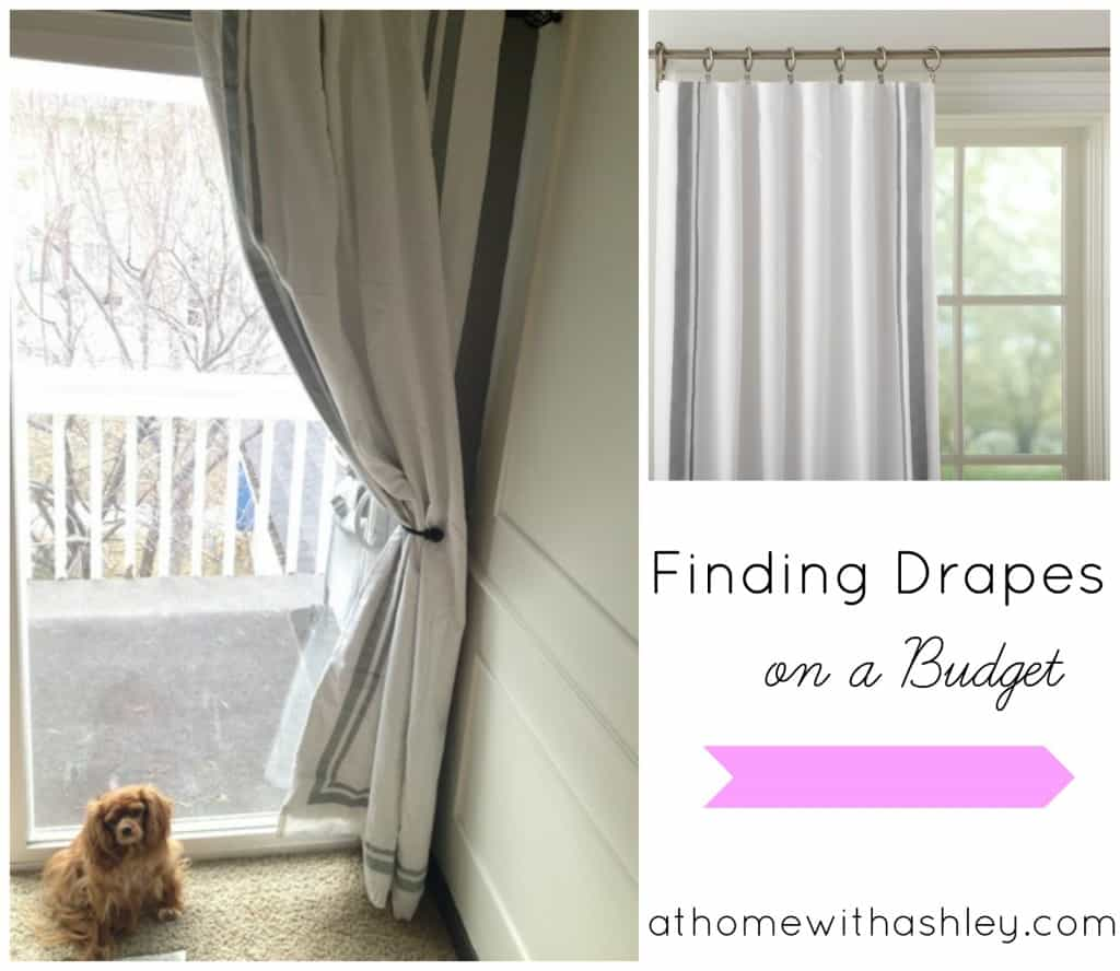 How to find drapes on a budget