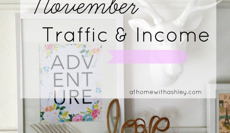 November Traffic and Income