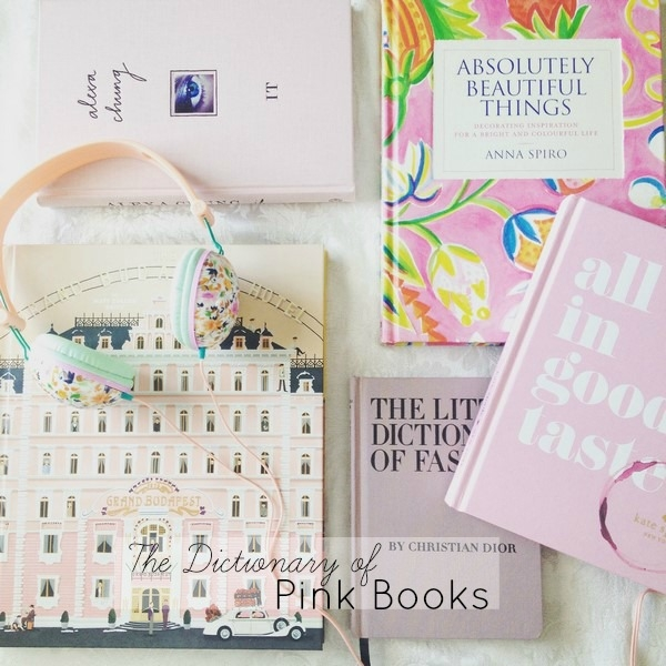 a dictionary of pink books for the home and fashion reader athomewithashley