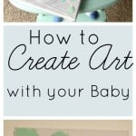 Create Art for your Decor with your Baby