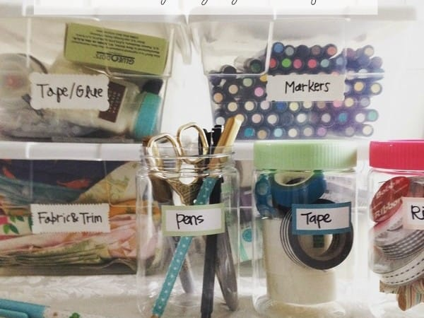 How to Organize Crafts