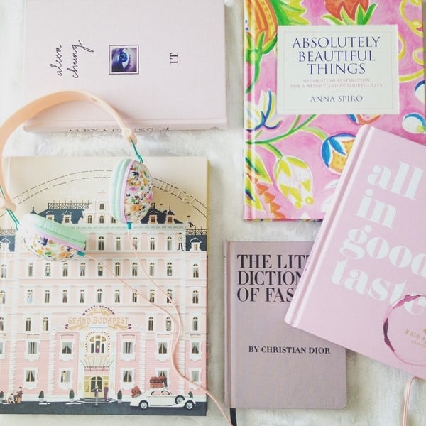 a dictionary of pink books for the home and fashion reader