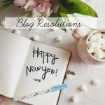 Blog Resolutions for 2016