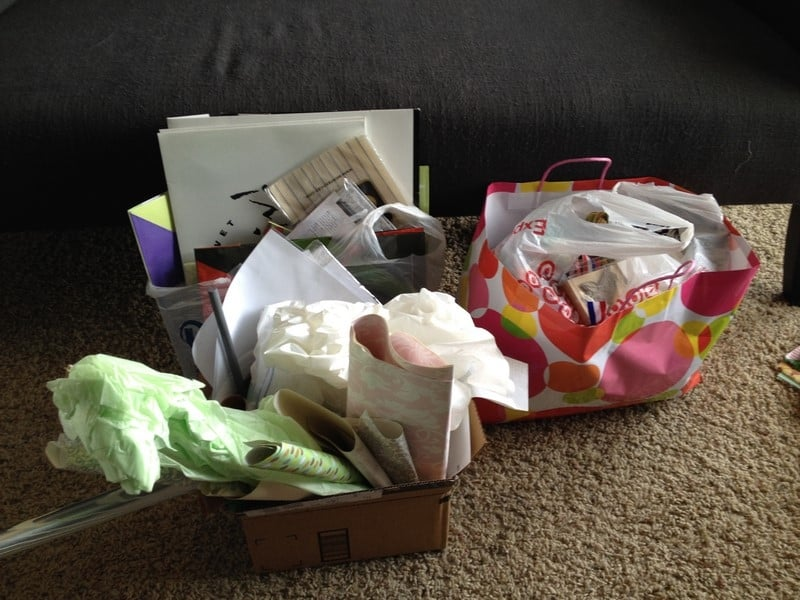 how to organize your crafts and wrapping supplies (11)