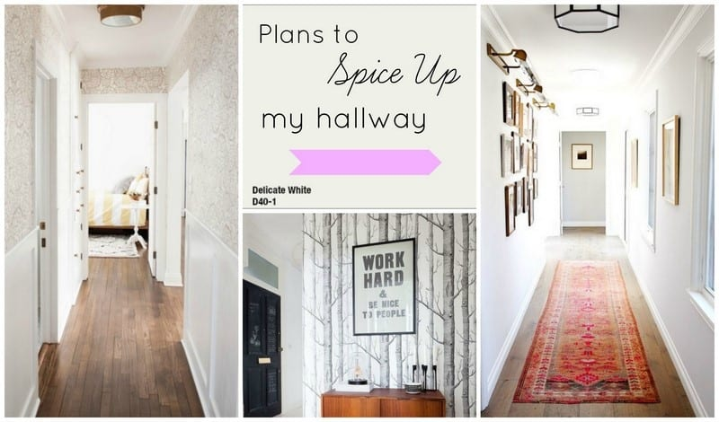 plans to spice up my hallway athomewithashley
