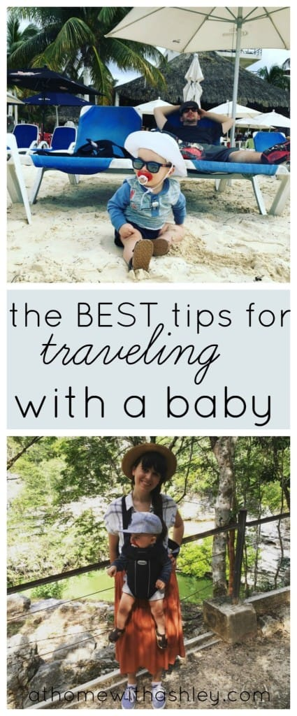 the best tips for traveling with a baby