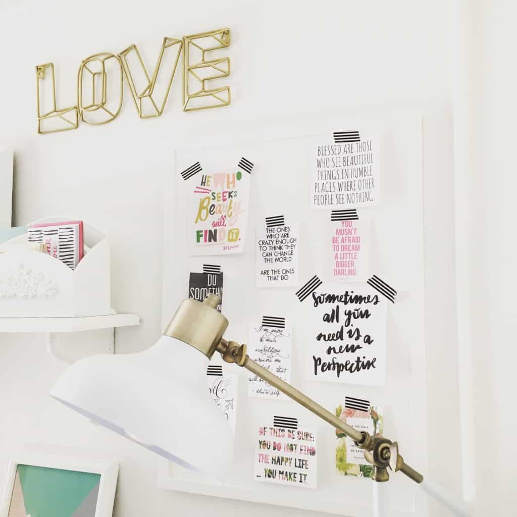 Thrift store Bulletin Board makeover (2)