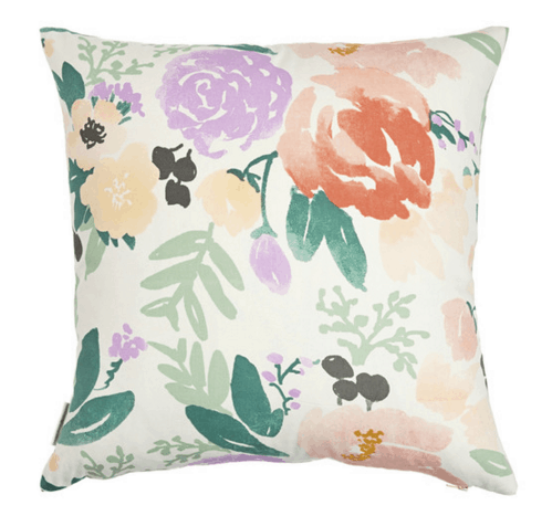 bridge city blooms pillow on white caitlin wilson