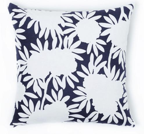 navy silhouette pillow caitlin wilson
