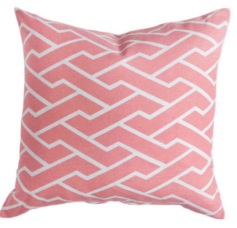 pink city maze pillow caitlin wilson