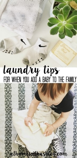 laundry tips for when you have a baby and add to your family