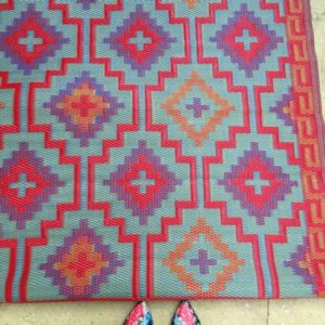 Deck one room challenge rug and how to sew an envelope pillow cover (2)