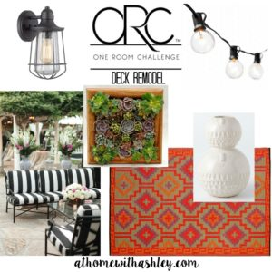 one room challenge deck remodel mood board athomewithashley