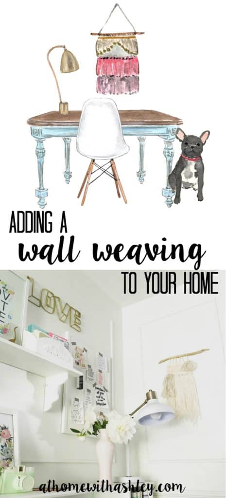 adding a wall weaving in your home. The best locations and why they are the perfect accent. At Home with Ashley
