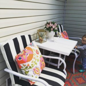 how to update your old patio furniture
