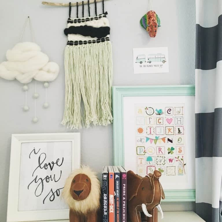 weavings in the home- At Home with Ashley (7)