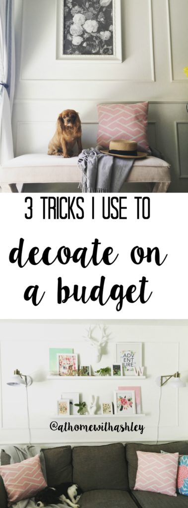3 tricks I use to decorate on a budget