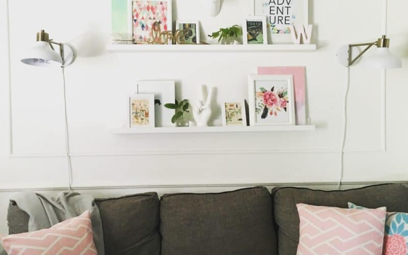 Living Room on a Budget- updates