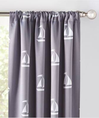 travel themed nusery drapes and glider chair (10)