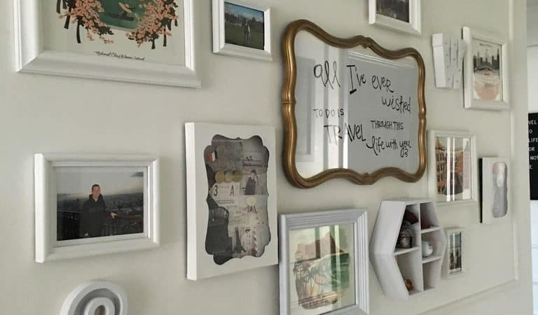 How to add Interest to your Gallery Wall