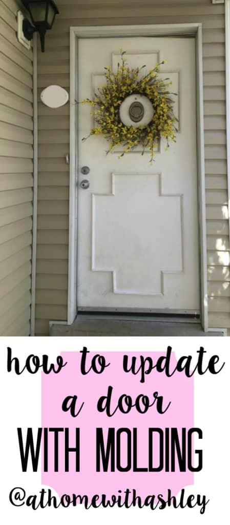 how to update a door with molding