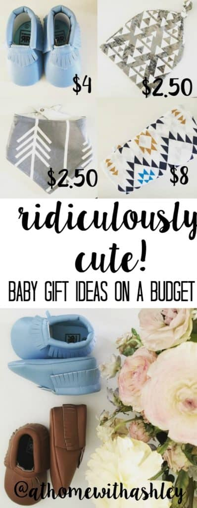 ridicously cute baby gift ideas on a budget