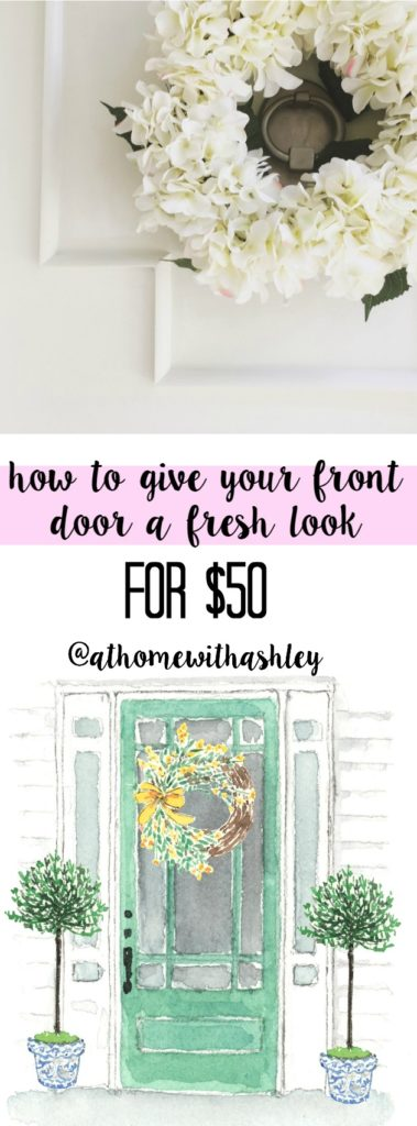 how to give your door a new look and makeover for $50 (11)