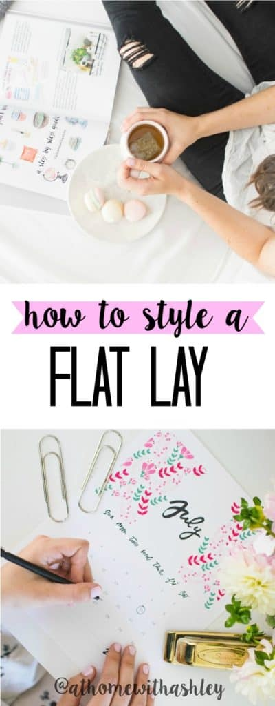 How to style a flat lay for instagram at home with ashley for Style at home instagram