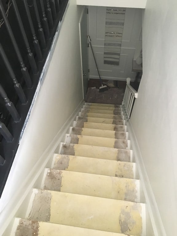 How To Paint Stairs Without A Ladder Or Scaffolding At