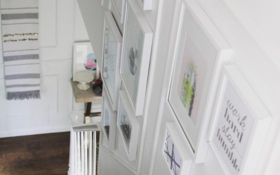 How to Paint Stairs without a Ladder or Scaffolding