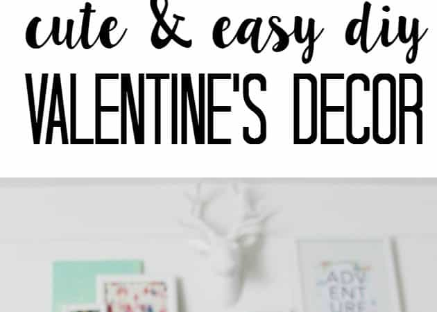 Valentine's Decor and Garlands