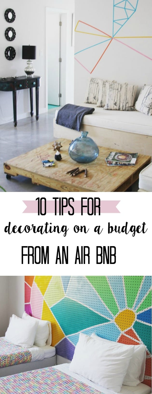 How To Decorate On A Budget Tips From An Air Bnb At Home With