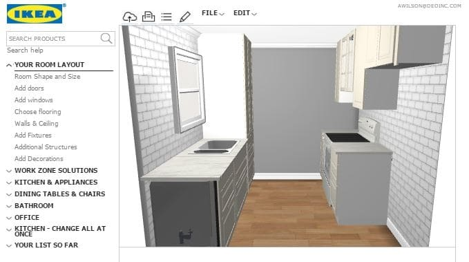 expect ikea kitchen ordering
