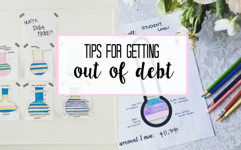 tips for getting out of debt