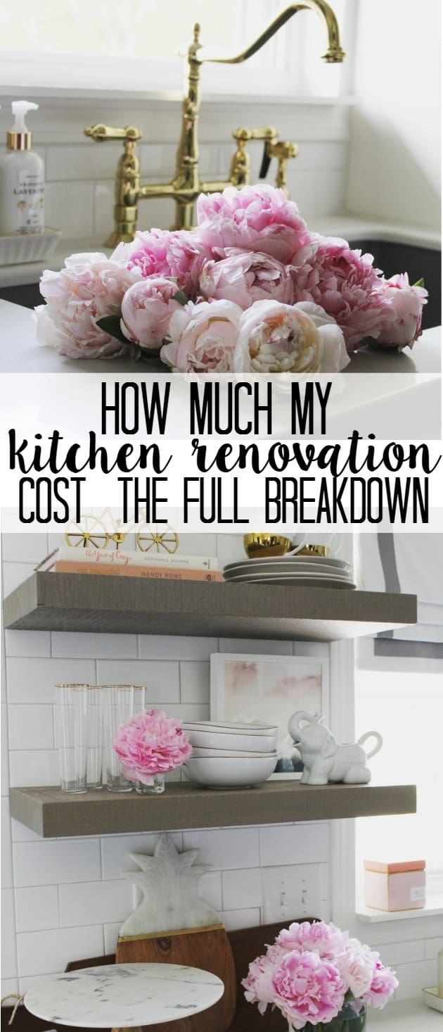 How much did my kitchen renovation cost at home with ashley for How much does a kitchen remodel cost