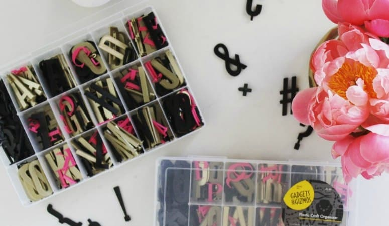 How to Organize Letterboard Letters