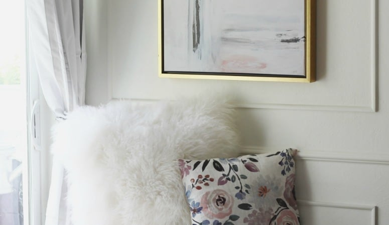 Living Room Refresh- Abstract Art