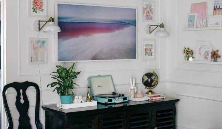 Living Room Refresh- How to Decorate around The TV